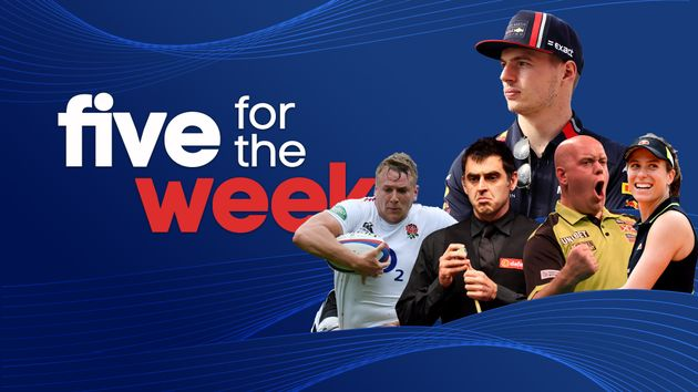 Sporting Life picks out the top five sporting events of the week not to be missed