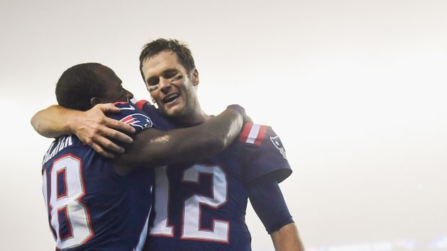 Tom Brady and the Patriots prevailed in a foggy New England