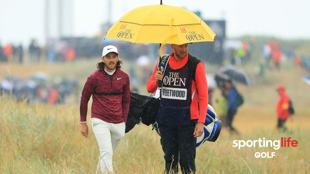Tommy Fleetwood shot a second round 65 at The Open