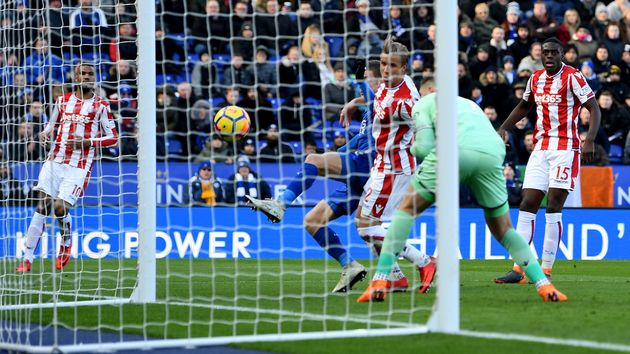 Leicester City draw level with Stoke