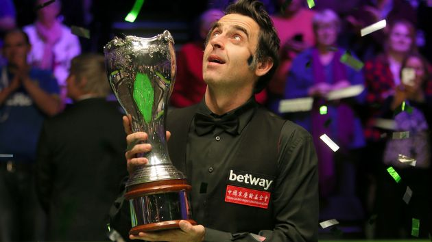 Ronnie O'Sullivan after winning his sixth UK Championship