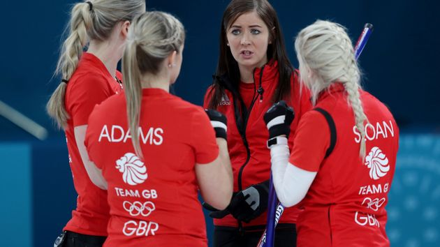 Great Britain's women curlers