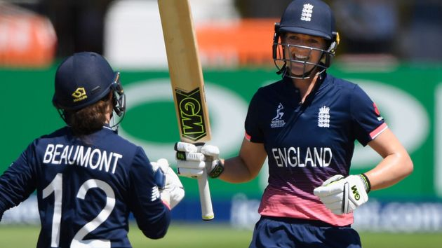 Tammy Beaumont and Sarah Taylor