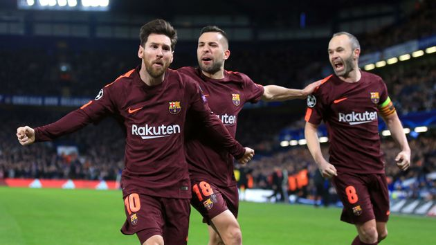 Lionel Messi finally scored against Chelsea
