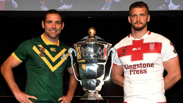 Cameron Smith (l) and Sean O'Loughlin will clash on Friday