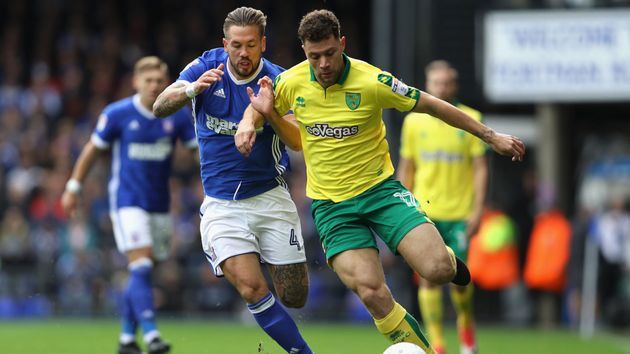 Action from Ipswich v Norwich