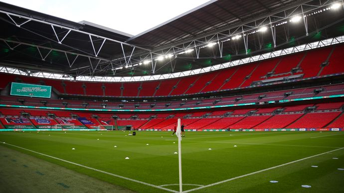 Euro 2020: Wembley to be allowed more than 60,000 fans for ...