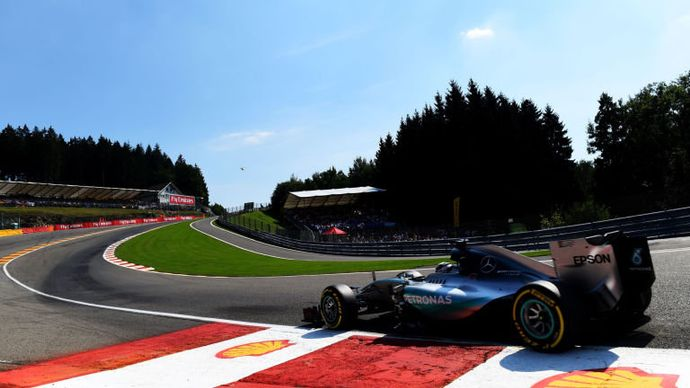 Spa-Francorchamps hosts the Belgian Grand Prix