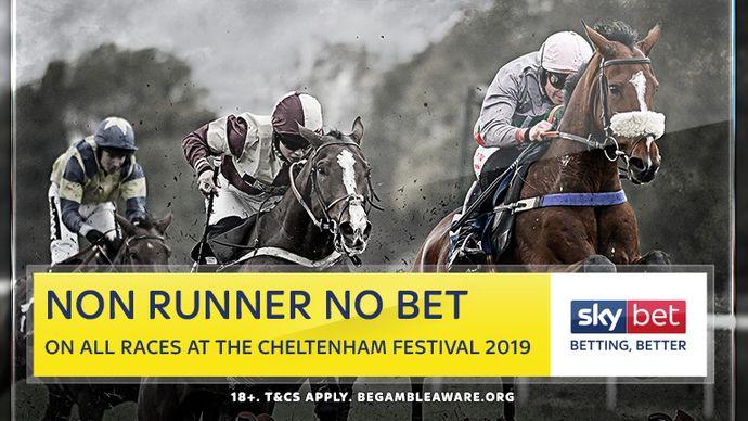 Sky Bet Non Runner No Bet at Cheltenham
