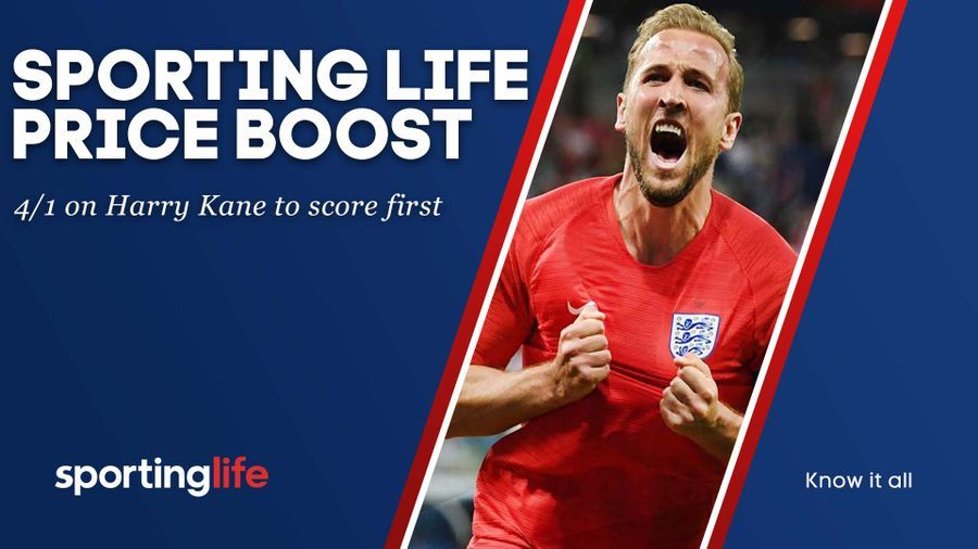 Harry Kane is enhanced to 4/1 to score first
