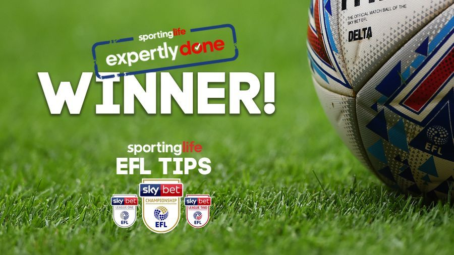 We have a winner: Success in our latest Sky Bet EFL tips