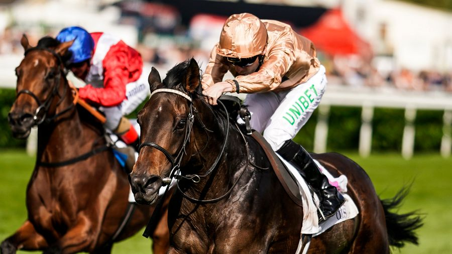 864be4af9f0 A round-up of the pick of the action from day two of the St Leger Festival  at Doncaster as God Given rediscovered the winning trail.