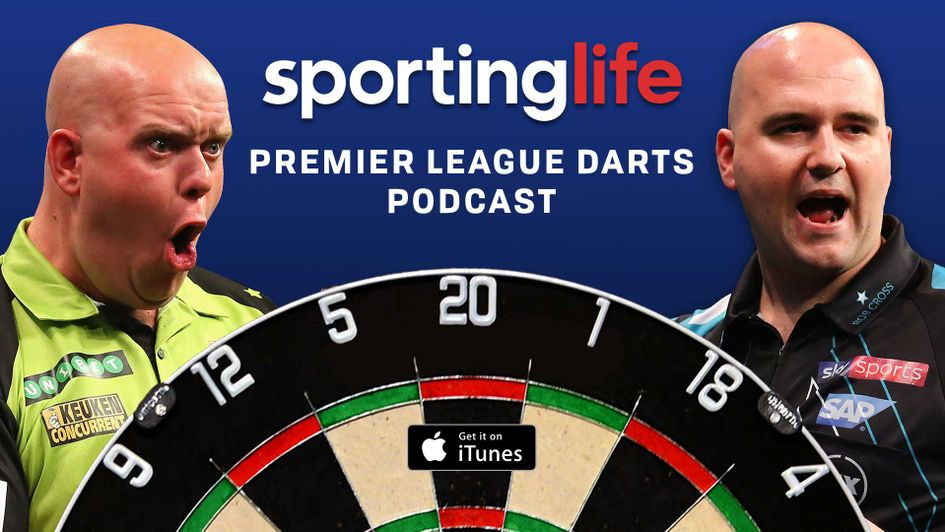 Scroll down for details on how to listen to the Sporting Life Darts Podcast for free
