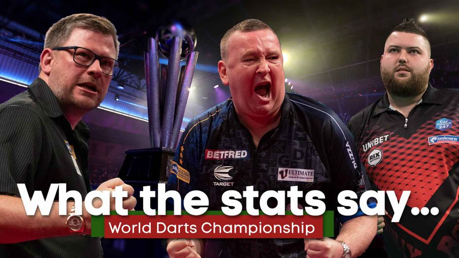 Carl Fletcher picks out the key stats ahead of the World Darts Championship