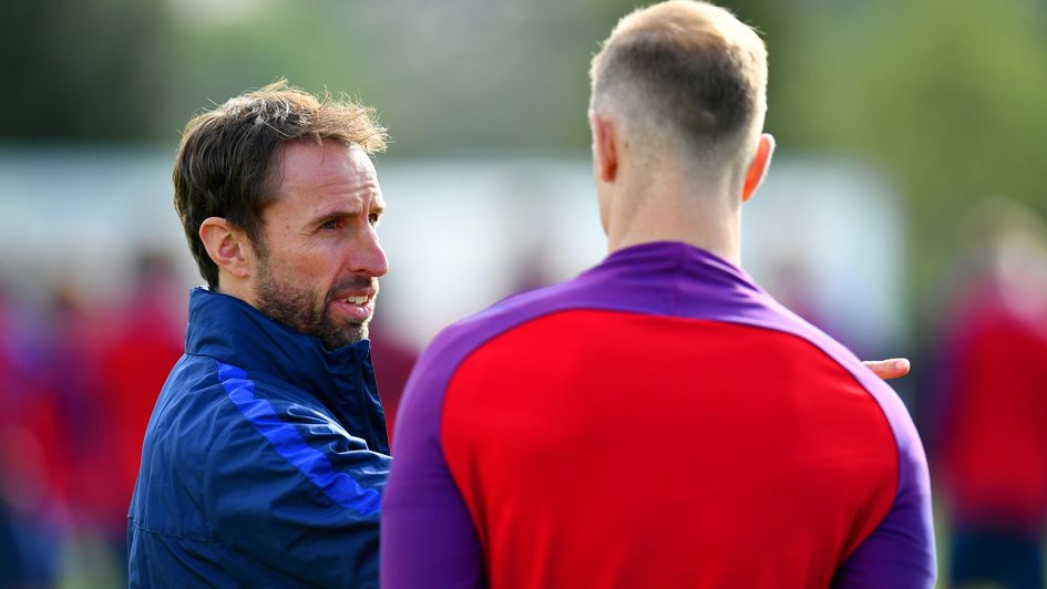 Gareth Southgate has left Joe Hart out of his England World Cup squad