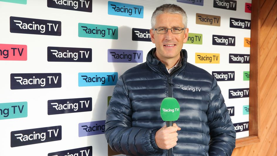 Gary O'Brien will be Racing TV's main man in Ireland