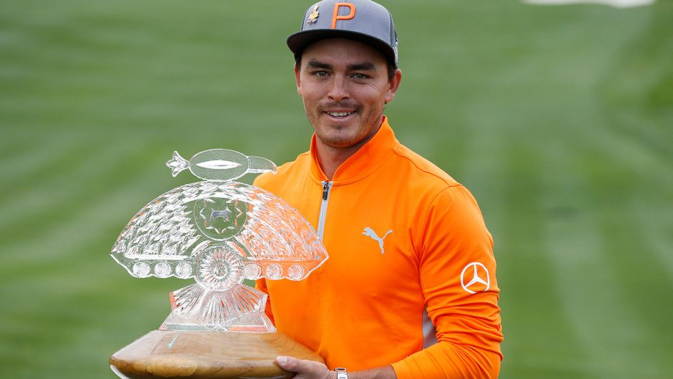 Rickie Fowler finished two clear of Branden Grace