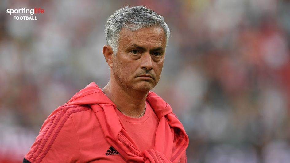 Jose Mourinho: The Manchester United boss has had a frustrating summer