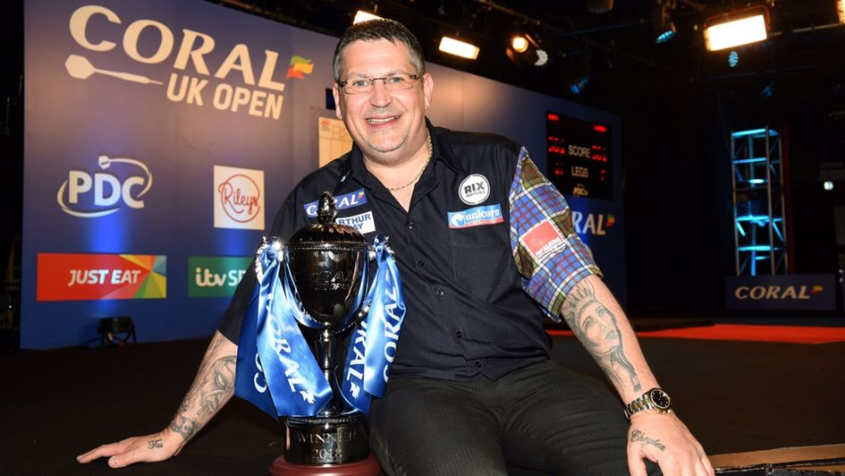 Gary Anderson is the 2018 UK Open champion (Picture: Chris Dean/PDC)