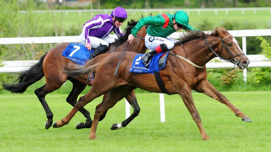 Hazapour has the measure of The Pentagon at Leopardstown