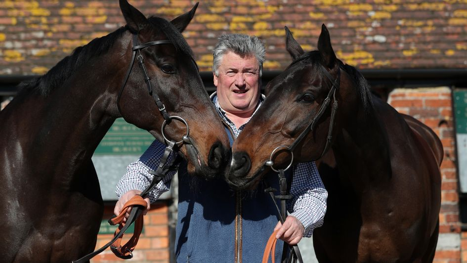 Paul Nicholls with Clan Des Obeaux and Frodon
