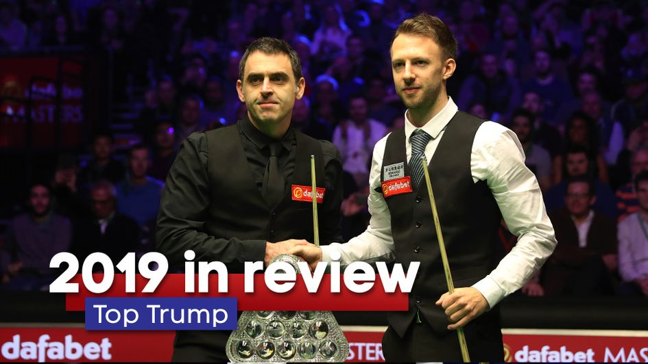 2019 Snooker in review including Ronnie O'Sullivan and Judd Trump
