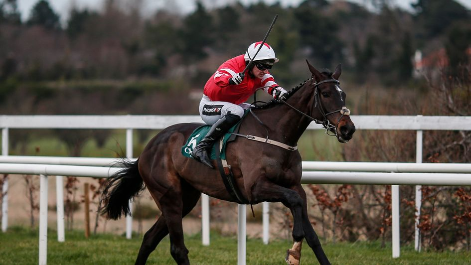 Could Blackbow go all the way to the top over hurdles?