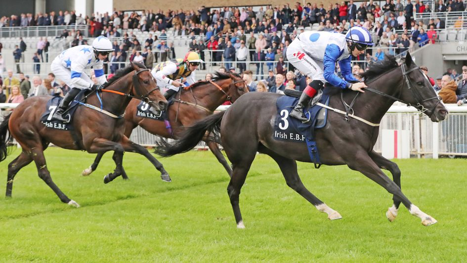 Buffer Zone wins at the Curragh with Gulliver a fast-finishing third