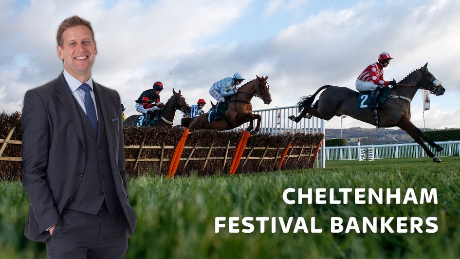 Ed Chamberlin selects his Cheltenham bankers
