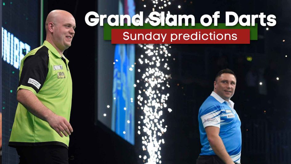 Who will reach the Grand Slam of Darts final?