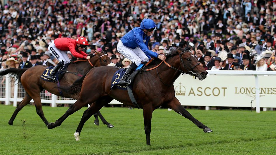 Blue Point wins the King's Stand Stakes