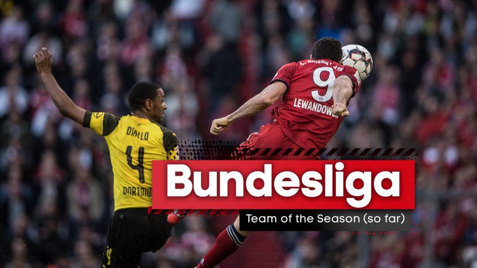 bundesliga the team of the 2019 20 season so far with league set to resume season so far with league set to resume