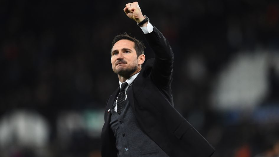 Frank Lampard: Special praise for the former England and Chelsea midfielder