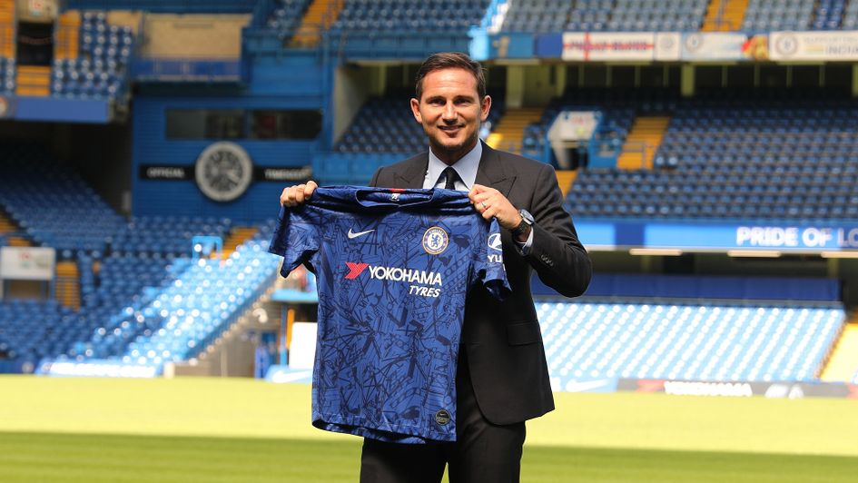 Frank Lampard is Chelsea's first English manager in 23 years