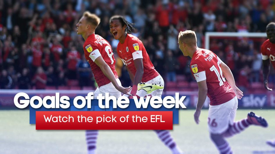 Watch the best of the Sky Bet EFL goals from the latest round of matches