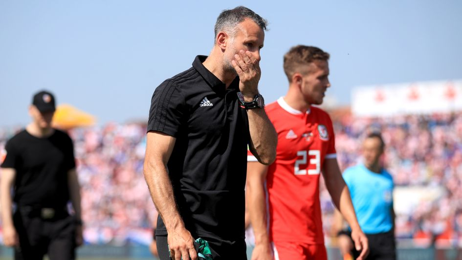 Ryan Giggs: A disappointing result in Croatia for the Wales boss