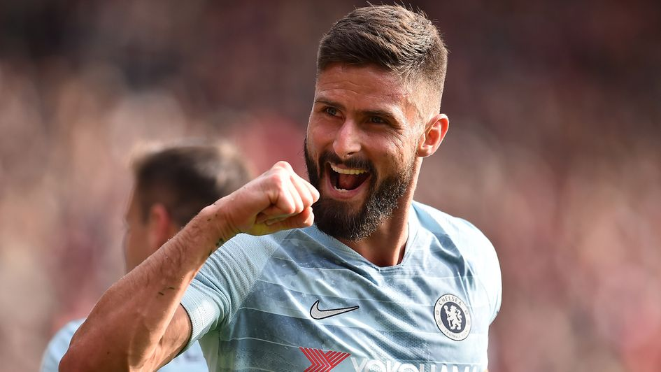 Olivier Giroud: The Frenchman is yet to score for Chelsea this season