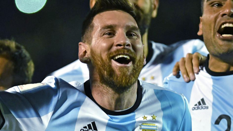 Lionel Messi ensured Argentina will be at the World Cup