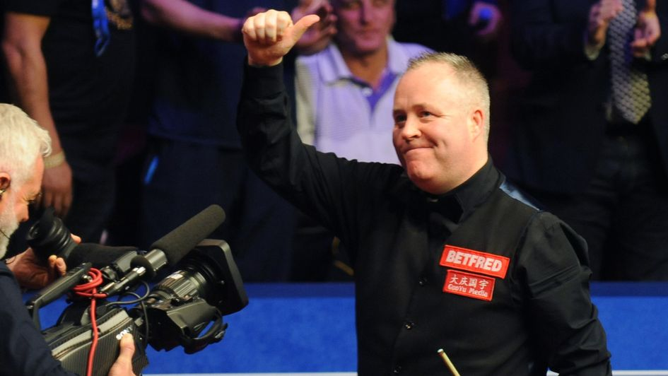 John Higgins produced a classy display to reach the final