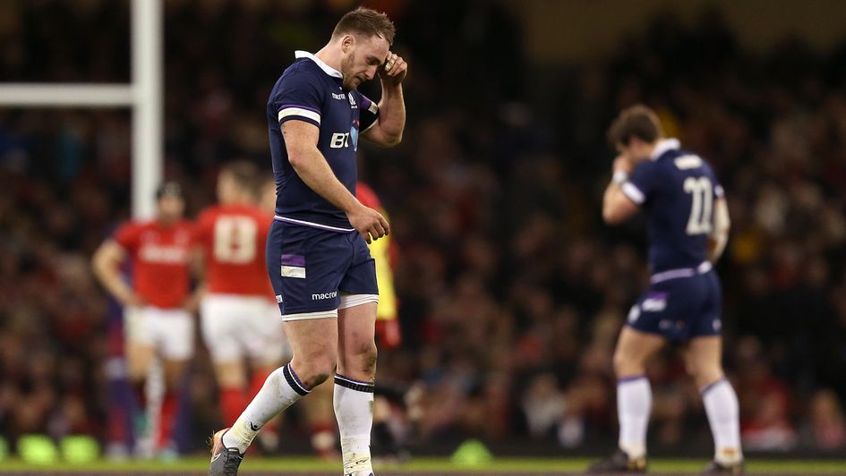 Scotland suffered this humiliation in Cardiff - but can bounce back on Sunday