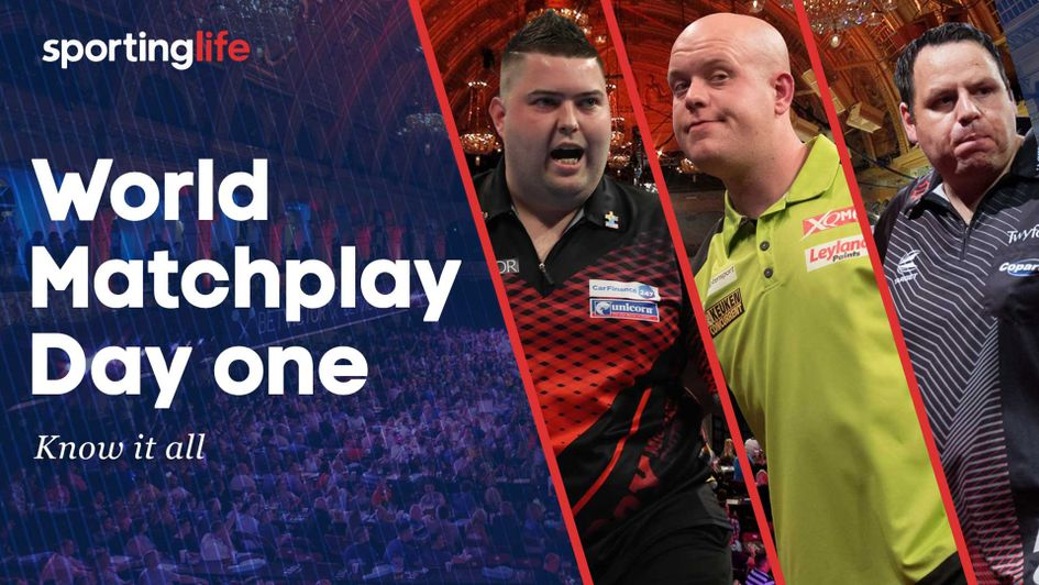 Check out our best bets for day one of the World Matchplay