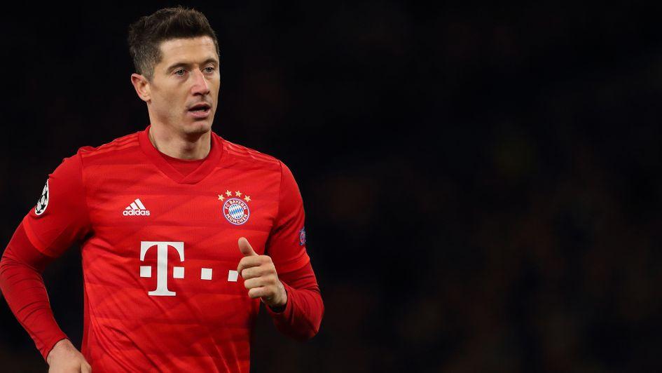 Bayern Munich star Robert Lewandowski