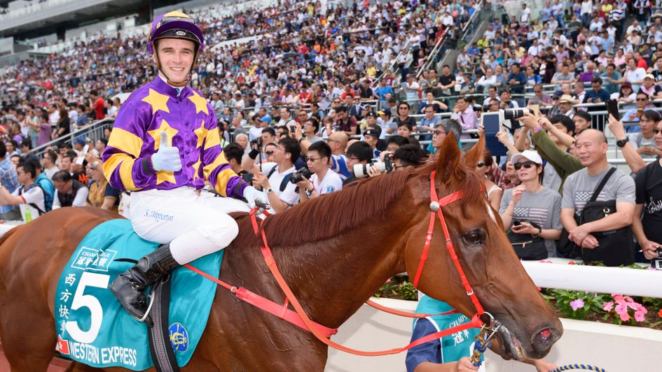 Jockey Sam Clipperton