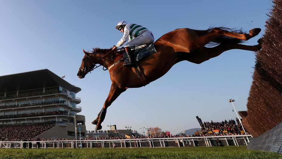 Baron Alco on his way to victory in the BetVictor Gold Cup