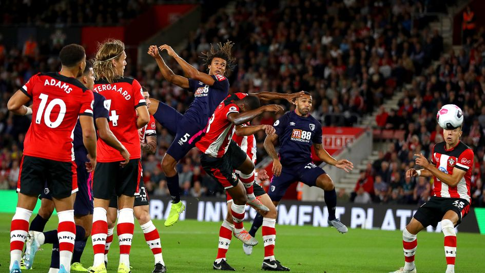 Nathan Ake scores for Bournemouth against Southampton
