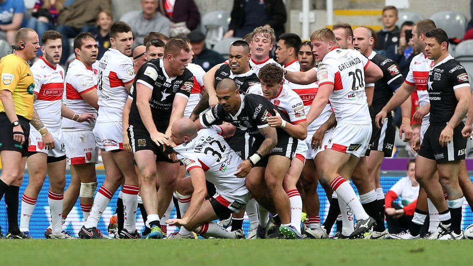 11ac0b1a11d Rugby League. Hull FC and Hull KR clash at Magic Weekend in 2016