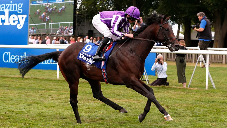 Leading sprinter Ten Sovereigns