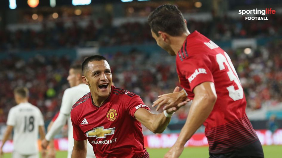 Alexis Sanchez (left): The Chilean is expected to have a good season at Manchester United