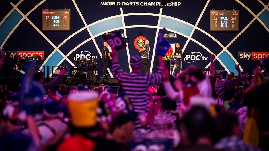 Image result for pdc world darts championship 2019
