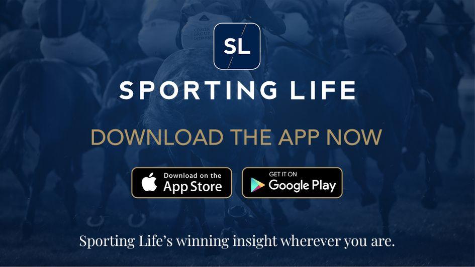 Descărcați aplicația gratuită Sporting Life pentru dispozitivele Apple și Android